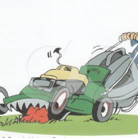 hook in lawn care