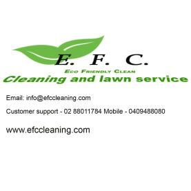 EFC cleaning & lawn service