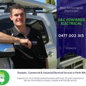 G & C Edwards Electrical - Electrician