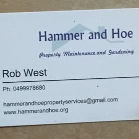 Hammer and Hoe property maintenance and gardening